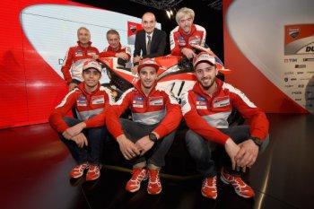 Ducati Team giới thiệu xe đua GP16 mới