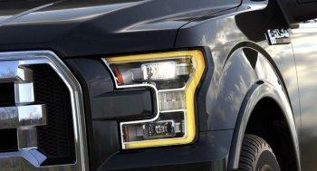 Đèn pha trên Ford F-150 giúp người lái thư giãn hơn