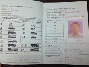 Chính thức cấp giấy phép lái xe quốc tế tại TP.HCM