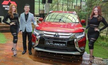 Mitsubishi Outlander 2016 dành riêng cho Đông Nam Á ra mắt