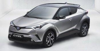 Toyota C-HR lộ diện, thách thức Honda HR-V