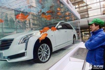 """Chiêu quảng cáo """"siêu độc"""" của xế sang Cadillac CT6"""