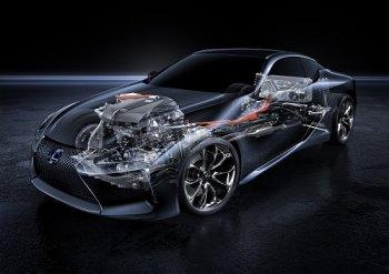 """""""Soi"""" chi tiết Lexus LC 500h vừa ra mắt"""