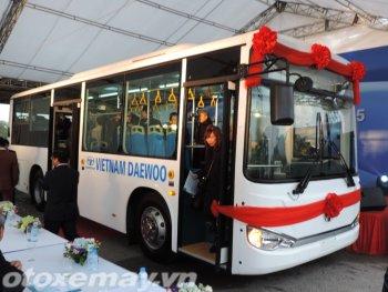 Ra mắt xe buýt Daewoo Việt Nam đời mới