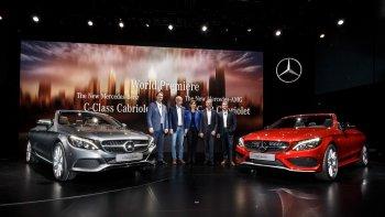 Mercedes-Benz C-Class Cabriolet chính thức trình làng