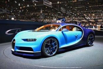 Bugatti Chiron – siêu xe nhanh nhất thế giới ra mắt