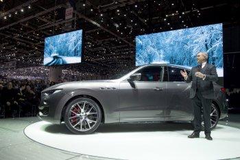 SUV Levante, sản phẩm mũi nhọn của Maserati trong năm 2016