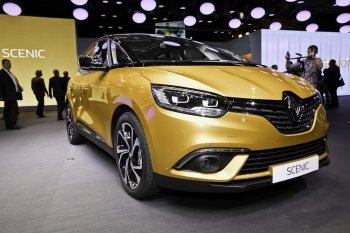 Renault Scenic và Megane Estate Estate mới đồng loạt ra mắt