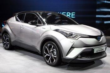 Toyota C-HR, đối thủ mới trong phân khúc SUV cỡ nhỏ