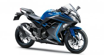 Kawasaki Ninja 300 có thêm bản màu đen xanh