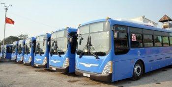 """Thêm 23 xe buýt """"xanh"""" đi vào hoạt động tại TP.HCM"""