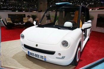 Bee-Bee XS: Mẫu xe điện thú vị dành cho giới trẻ