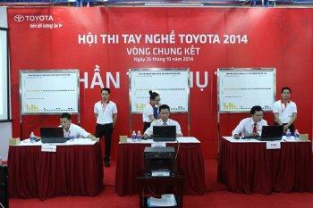 Toyota nâng cao chất lượng dịch vụ qua hội thi tay nghề