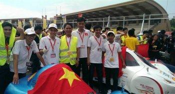Việt Nam vô địch cuộc thi chế tạo xe tiết kiệm nhiên liệu châu Á 2016