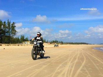 Nữ doanh nhân Sài Gòn phượt 1200km với Cafe Racer