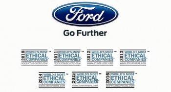 """Ford vẫn là hãng xe """"đạo đức"""" nhất thế giới"""