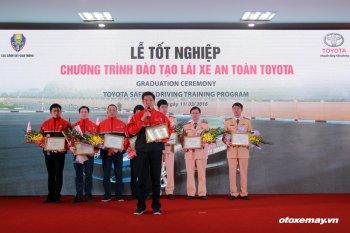 Toyota toàn cầu công nhận 8 giảng viên lái xe chuyên nghiệp Việt Nam