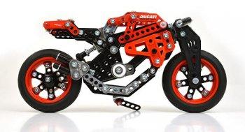 Meccano Ducati: Thêm lựa chọn cho những đứa trẻ mê tốc độ