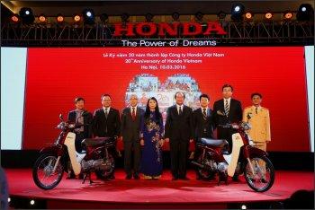 Honda Việt Nam: 20 năm và những con số ấn tượng