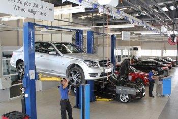 Mercedes-Benz kiểm tra xe miễn phí cho khách