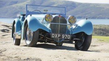 Xế cổ đấu giá đắt nhất của Bugatti