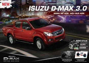 Isuzu D-MAX có thêm phiên bản 3.0