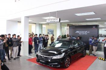 """Honda Accord 2016 """"rục rịch"""" ra mắt tại Việt Nam"""