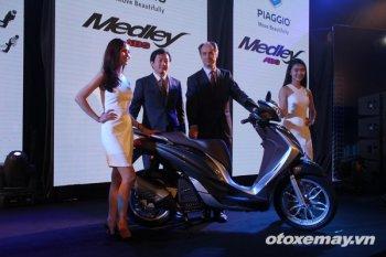 """Piaggio Việt Nam ra mắt Medley ABS, """"đe dọa"""" Honda SH"""