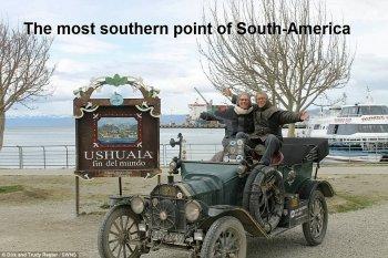 Vợ chồng già đi vòng quanh thế giới cùng Ford Model T