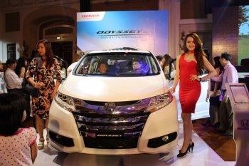Honda Odyssey đến tay người dùng Việt với giá từ 1,99 tỷ