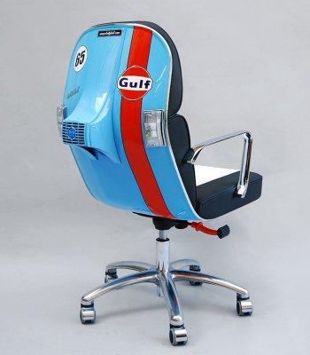 Xe Vespa thành ghế văn phòng sành điệu