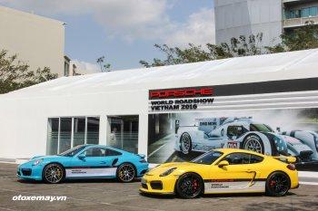 Hưng phấn, thót tim với Porsche World Roadshow 2016