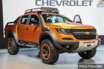 Chevrolet Colorado Xtreme và Trailblazer Premier nổi bật tại Thái Lan