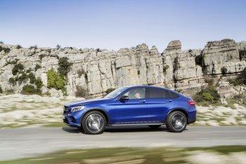 Mercedes-Benz GLC Coupe có gây khó cho BMW X4, Porsche Macan ?