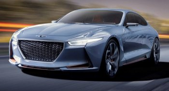 "Genesis New York Concept ""hằm hè"" BMW 3-Series"