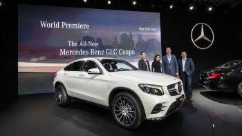Hình ảnh thực tế Mercedes-Benz GLC Coupe vừa ra mắt