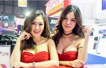 Dàn mỹ nữ nóng bỏng tại triển lãm Bangkok 2016