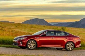 Kia Optima thế hệ mới được đánh giá cao về độ an toàn