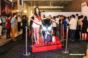SYM khoe gì ở triển lãm xe máy đầu tiên tại Việt Nam