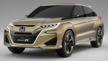 Honda rập rình ra mắt xe SUV đầu bảng