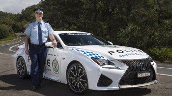 Lexus RC F chỉ để tuần tra: cảnh sát Úc thật chịu chơi