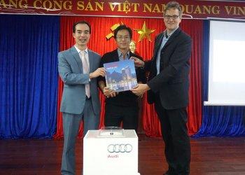 Audi Việt Nam giới thiệu sách ảnh Đà Nẵng xưa và nay