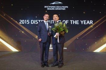 Hyundai Thành Công được chọn là nhà phân phối của năm 2015