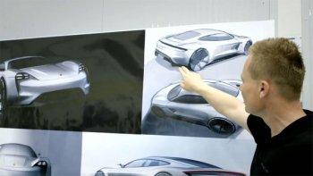 Cận cảnh quá trình thiết kế siêu xe Porsche Mission E concept