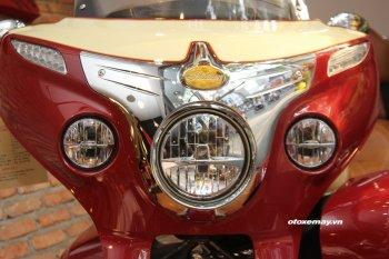 Cận cảnh hàng khủng Indian chính hãng - đối thủ của Harley tại Sài Gòn