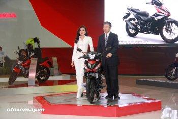 WINNER 150 tâm điểm của gian hàng Honda Việt Nam
