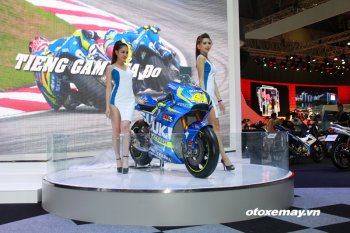 Bất ngờ với dàn xe tốc độ của Suzuki Việt Nam