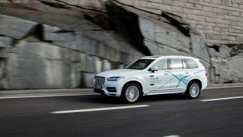 Volvo thử nghiệm xe tự lái tại Trung Quốc