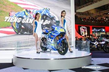 Xe đua MotoGP - tâm điểm của triển lãm mô tô