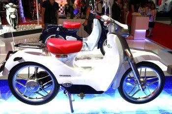 Cặp đôi Honda đẹp nhất triển lãm xe máy Việt Nam